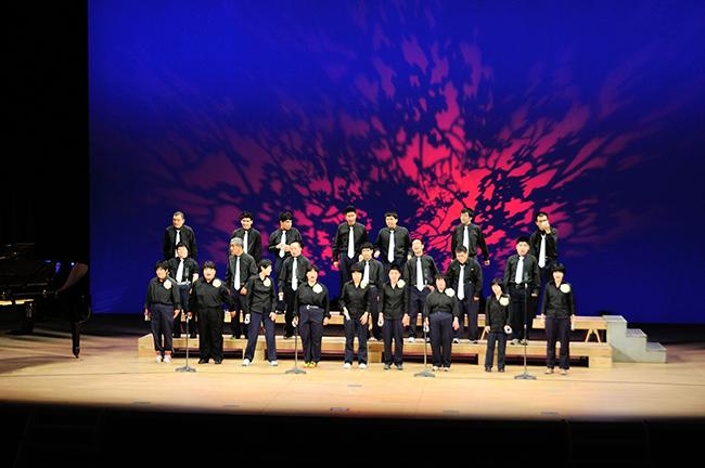 施設文化祭合唱