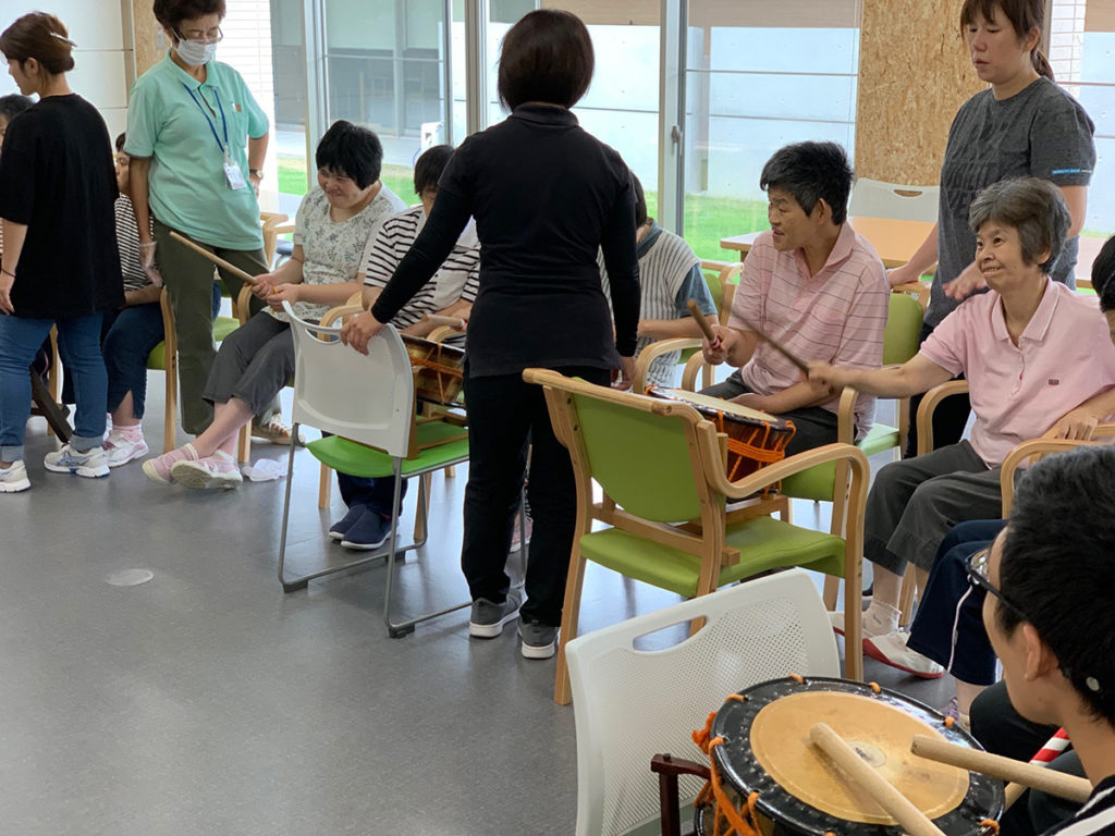 石谷の郷 音楽太鼓